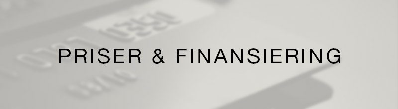 Priser & Finansiering