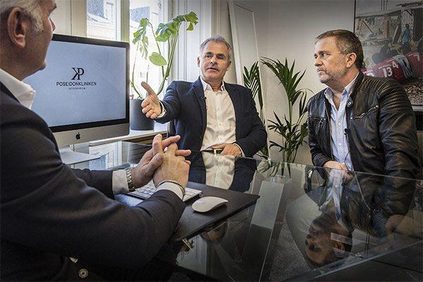 Anders Limpar och Jan Johansen