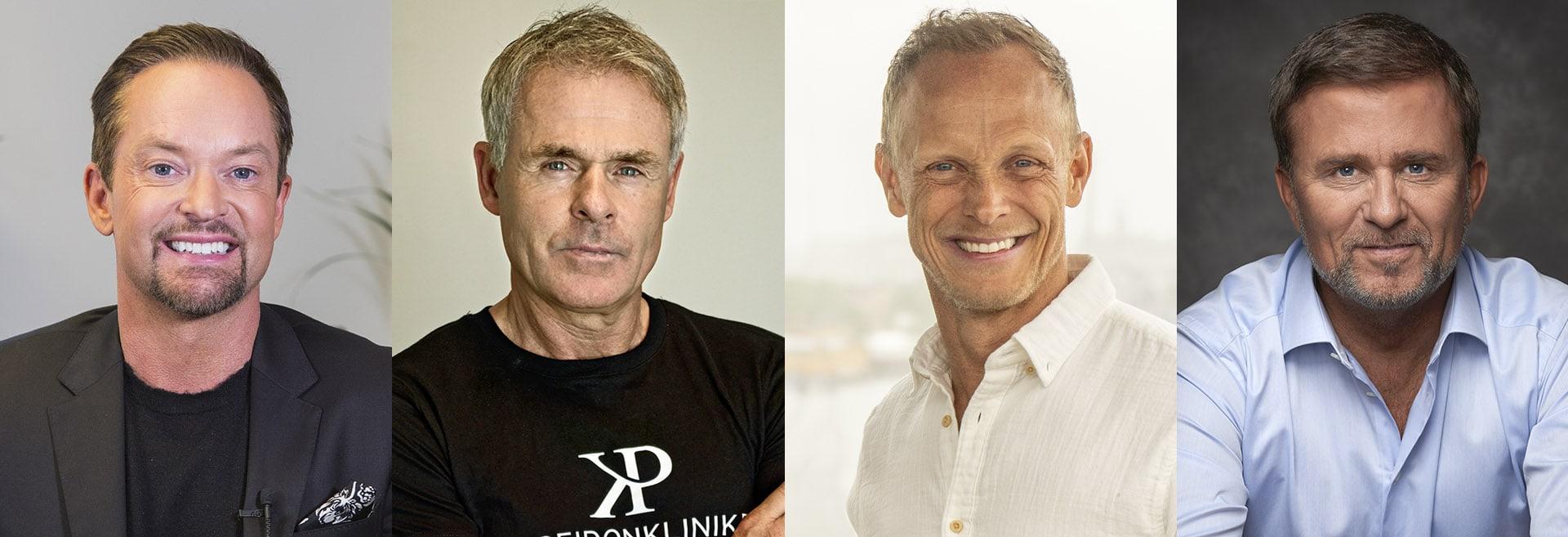 Kändisar som Andreas Carlsson, Anders Limpar, Tobias Karlsson och Jan Johansen Andreas Carlsson har gjort sin hårtransplantation på Poseidonkliniken i Stockholm